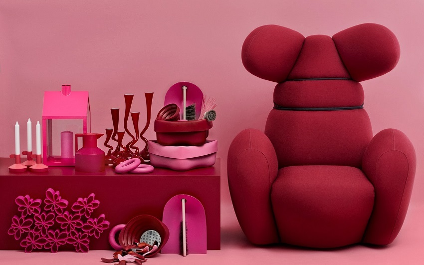 Normann Bunny Chair roze